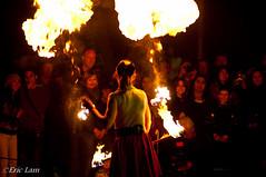 Fire Juggler (Bluemonkey08) Tags: fire flames australia canberra act ericlam nikond90 bluemonkey08 rokinon85mmf14 floriade2010 rebadgedsamyang