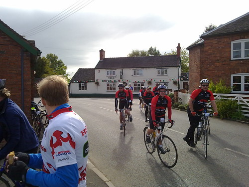 Milwich Feed Stop, Stoke on Trent Tour Ride