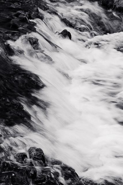 Rapids (Monochrome), Rainbow Falls Provincial Park, Ontario, 2010