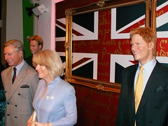 Part of the Royal family at Madame Tussauds