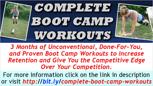 Fitness Professionals save time and money with these Done-for-You Boot Camp Workouts.