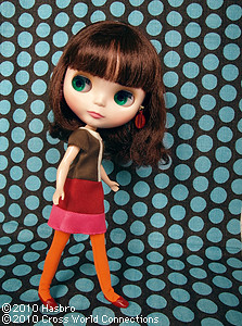 Blythe doll Simply Chocolate - official photo
