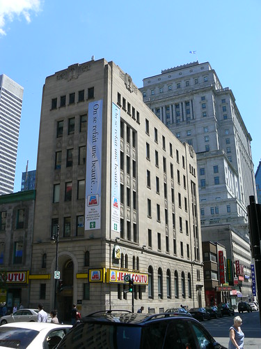 Ste Catherine & Metcalfe, Montreal