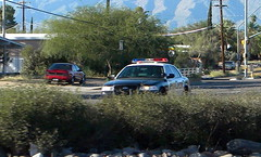 "Tucson Police Code 3 (bloo_96 ""Daniel DeSart"") Tags: arizona ford car mobile sedan radio cops leo tucson police victoria cop crown law enforcement department cruiser patrol dept tpd copcar rmp cvpi copscar"