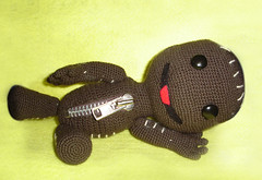 amigurumi: sackboy (camila.baeza) Tags: crochet mueco amigurumi tejido littlebigplanet sackboy manulaidad