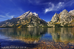 Cutting Through (James Neeley) Tags: grandtetons circularpolarizer grandtetonnationalpark jennylake gtnp 5xp jamesneeley exposurefusion