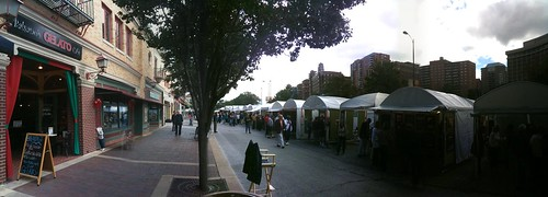 Panoramic art fair
