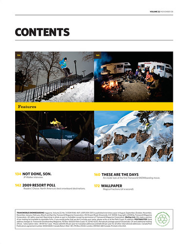 Transworld Vol. 22 November 08
