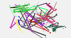 THE FIRST ONE by LIUK | fr | 9-1-2010 | mouse | 1455 x 775 (drips / action painting) Tags: art fun mouse one 33 free first fr the liuk thefirstone 912010 f1f1f1 1455x775