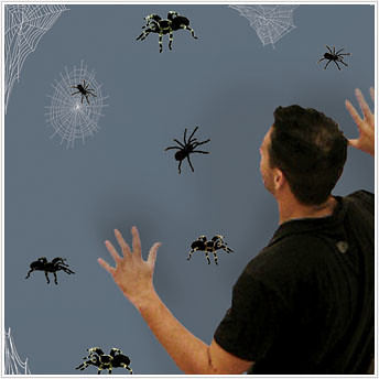 spiders kids decals