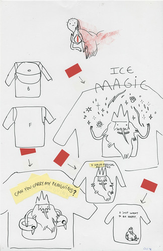 T-shirt Roughs #8