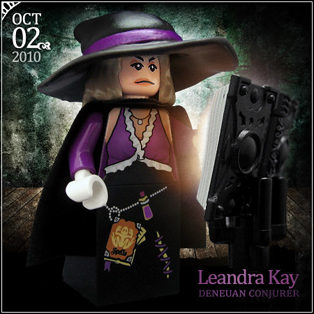 October 02 - Leandra Kay, Deneuan Conjurer