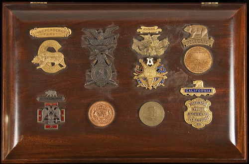 Humidor with California Medals