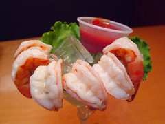 Shrimp Cocktail_10-1-10 (jimbrickett) Tags: shrimp seafood virginiabeach goodeats shrimpcocktail jimbrickett cpshuckers 10110cpshuckerslynnsky