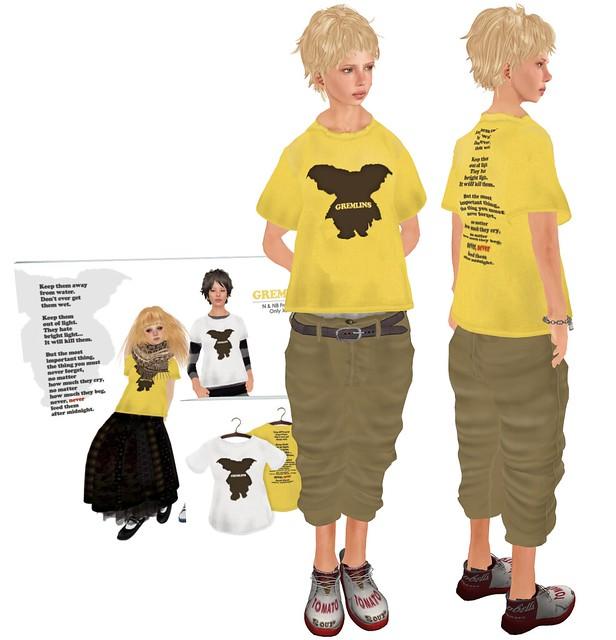 101003/FREE GREMLINS T-shirt