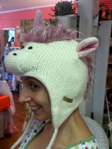 Unicorn hat!