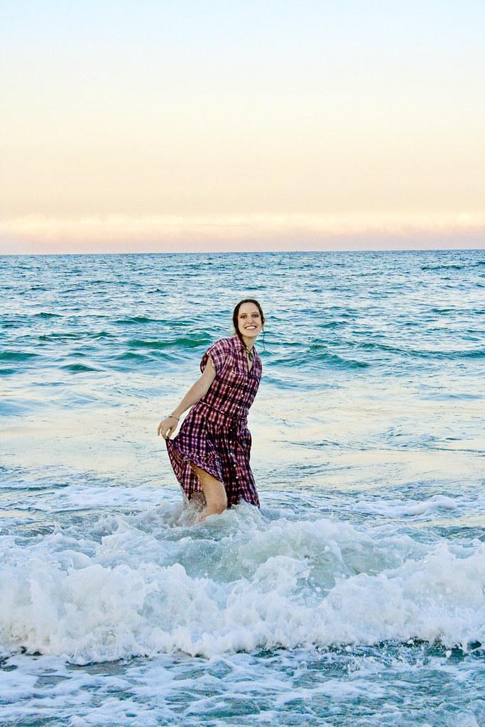 wave dancing