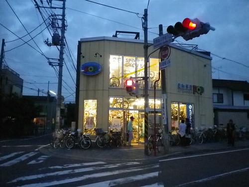 自転車屋POP