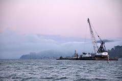 Trawler in Fog (James Matuszak) Tags: california bayarea marincounty sanfranciscobay 2010 northbay mttamalpais