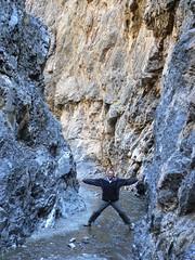 Me in the Vulture's Mouth (jayselley) Tags: park three nationalpark asia desert september mongolia national beauties gobi exodus 2010 mongol gurvan yolynam vulturesmouth gurvansaikhan threebeauties saikhan mongolianadventure