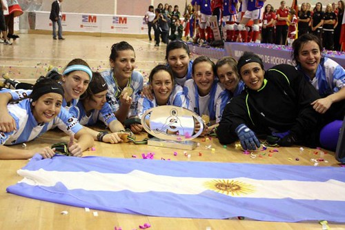 argentina campeon mundial de hockey de patines