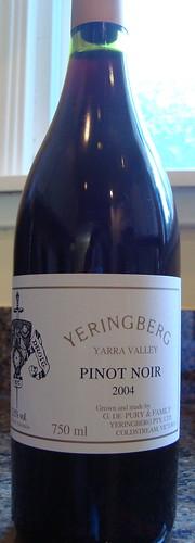 2004 Yeringberg Pinot Noir