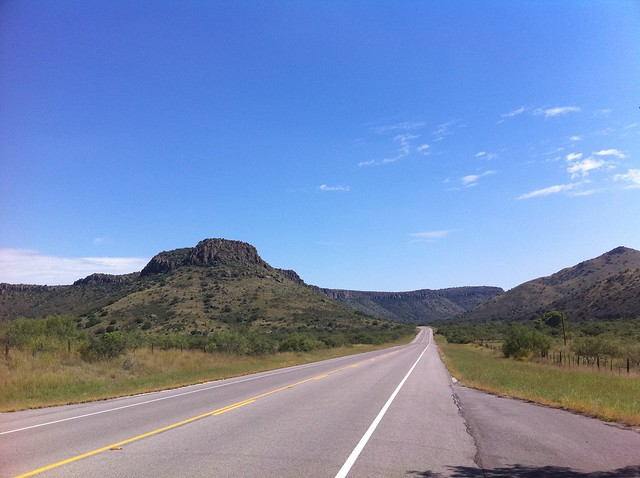 In the Davis Mountains