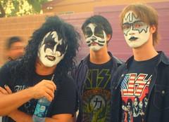 Kiss fans in Arizona (Keltron - Thanks for 6 Million Views!) Tags: arizona phoenix concert kiss ace genesimmons catman paulstanley