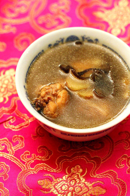 Chinese Drunken Chicken Soup