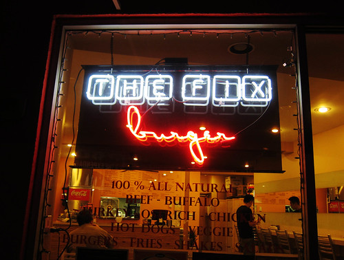 Dinner at the Fix Burger