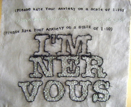 embroidery nervous