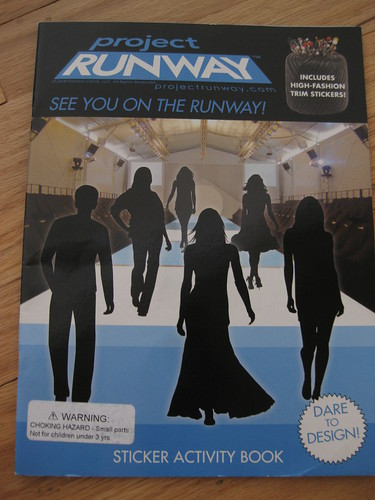 runway Sticker Activity Book