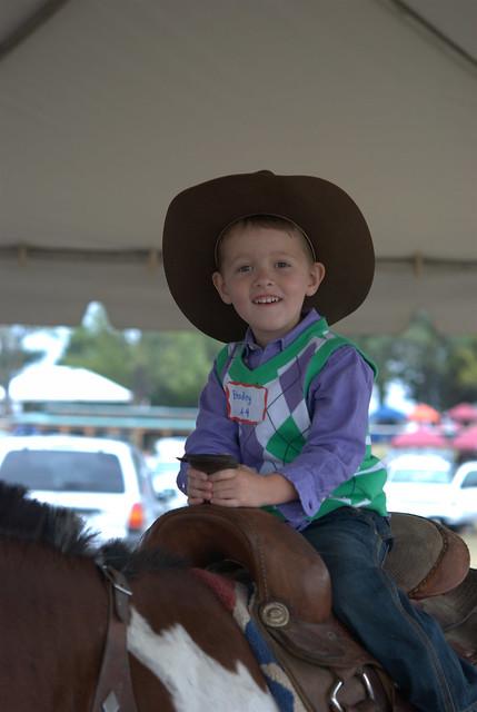 cowboy smile