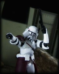 Star Wars Legacy Collection - Commander Bacara (Ed Speir IV) Tags: movie toy toys actionfigure star starwars republic empire figure scifi wars clone figures commander hasbro 118 clonewars bacara 334 clonecommander order66