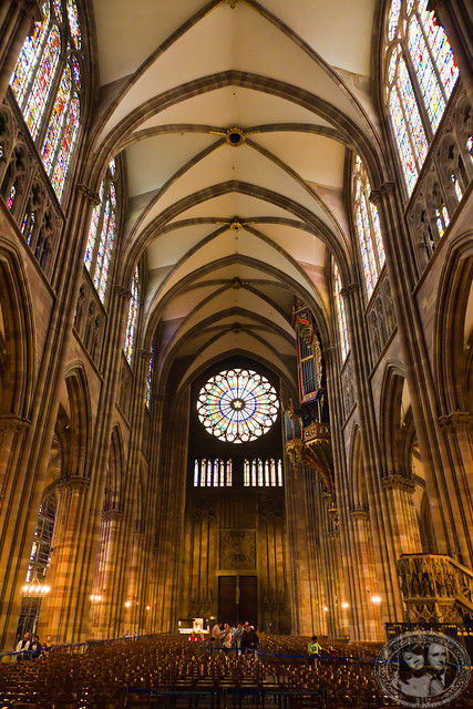 Inside Strasbourg Church