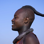 Himba man looking for a wife - Angola