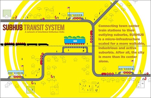 SubHub Transit System (from Build a Better Burb)