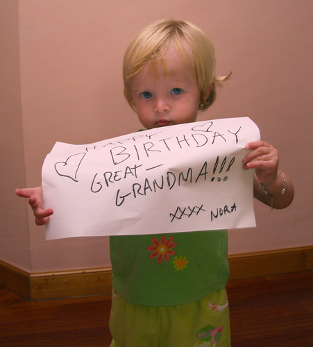 Happy Birthday, Great-Grandma!