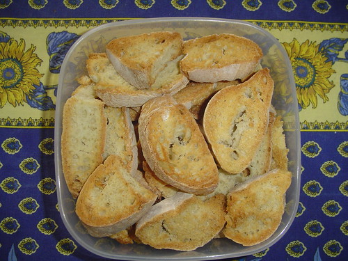 Pane biscottato / Twice-baked Bread