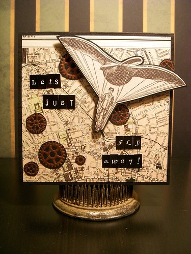 Let's Just.... Steampunk Card