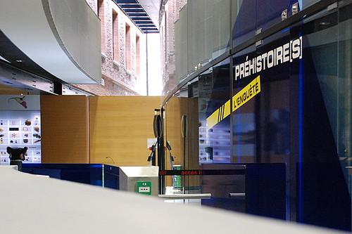Expo Préhistoire(s) : entrée