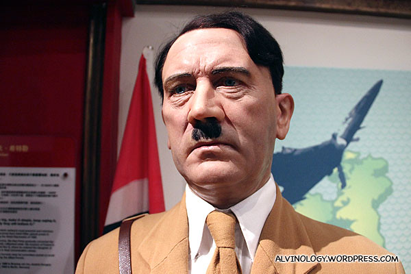 Adolf Hitler, one of the most hated villian in history
