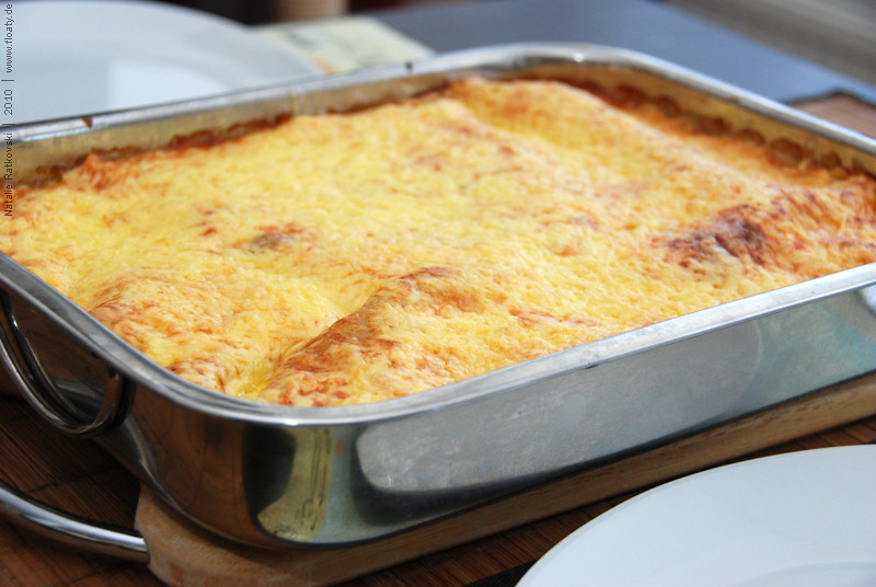 Lasagne, nyammm :-)