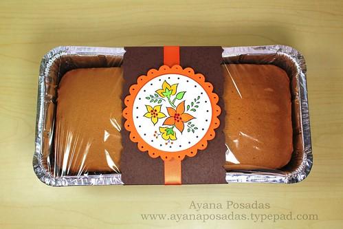 Autumn Card w Pumpkin Bread (3)