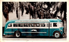 Greyhound Bus, Southeastern Greyhound Lines, 1937