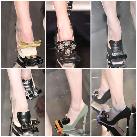 Miu Miu Shoe decor FW10