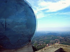 Reflejo (Isabel Rodrguez) Tags: azul san italia paisaje cielo espejo reflejo montaa mundo marino roca piedra mywinners