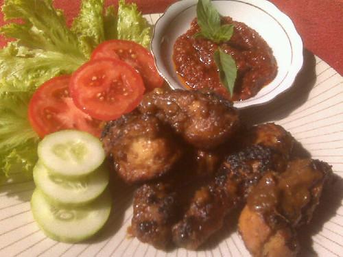 Ayam Bakar a la Pak Sahak « -deliciousway-