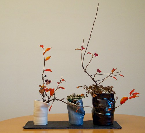 The Nordic Lotus Ikebana Blog Day 3 Three Vases And Whats Left