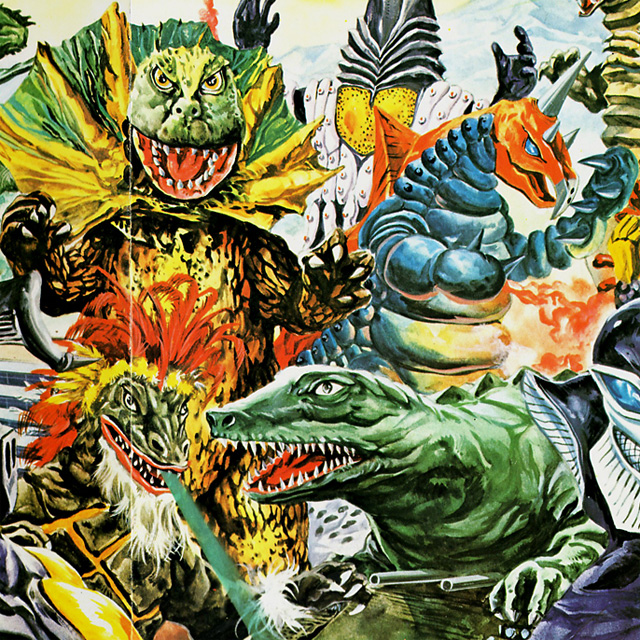 Geronimon, Jirass, Alien Pegassa, Dino-Tank